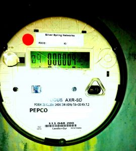 Example of a PEPCO Net Meter.