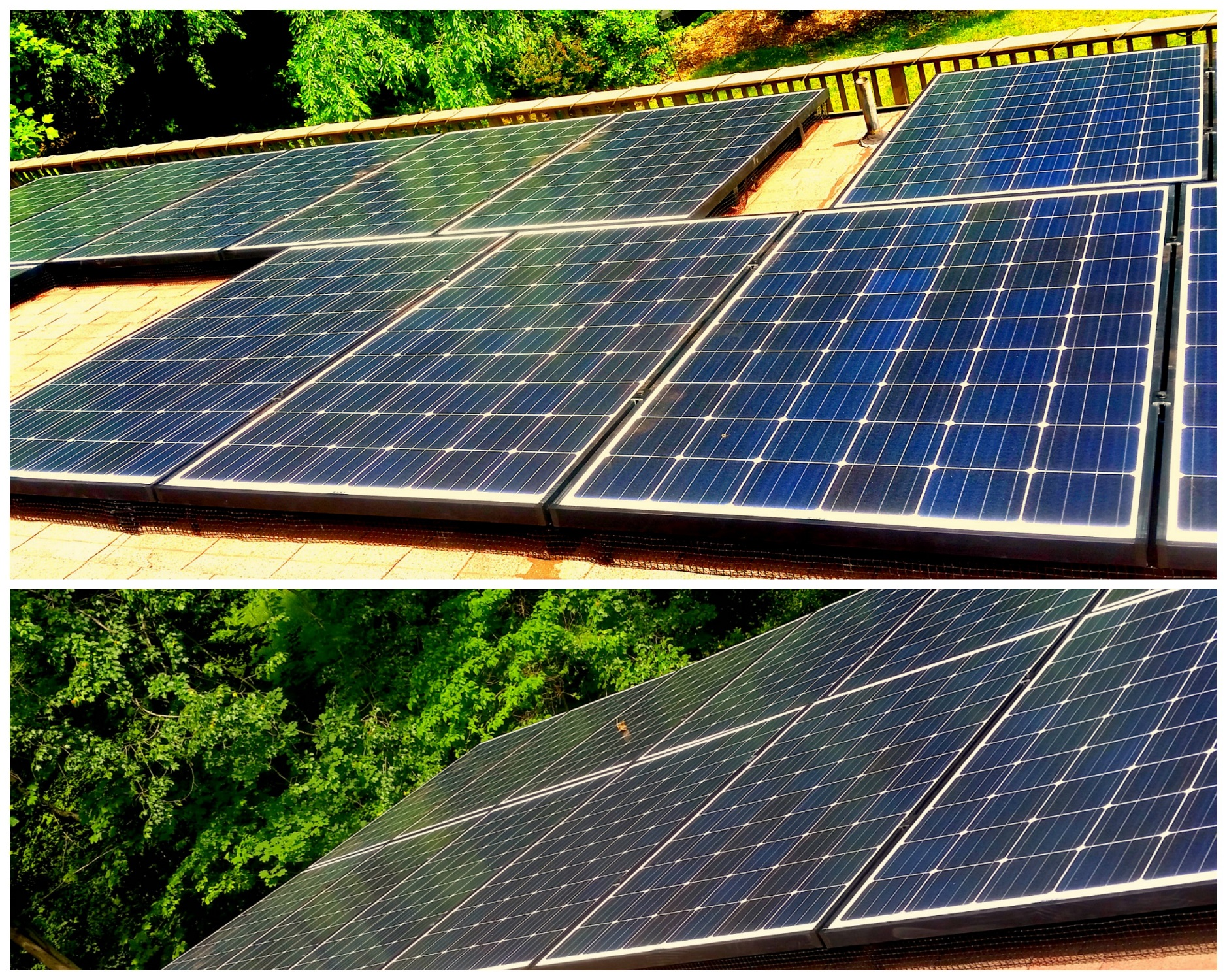 Solar Panel Installation For A Home In Columbia Md